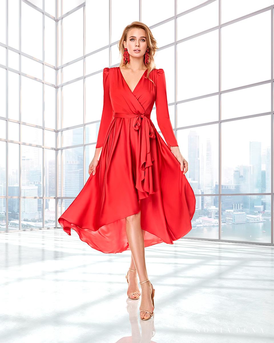 Abiti da festa, vestiti da festa, Vestidos de madrina, Abiti da cocktail. Autunno Inverno 2020 Collezione Capsule 2020 Completa. Sonia Peña - Ref. 2200009
