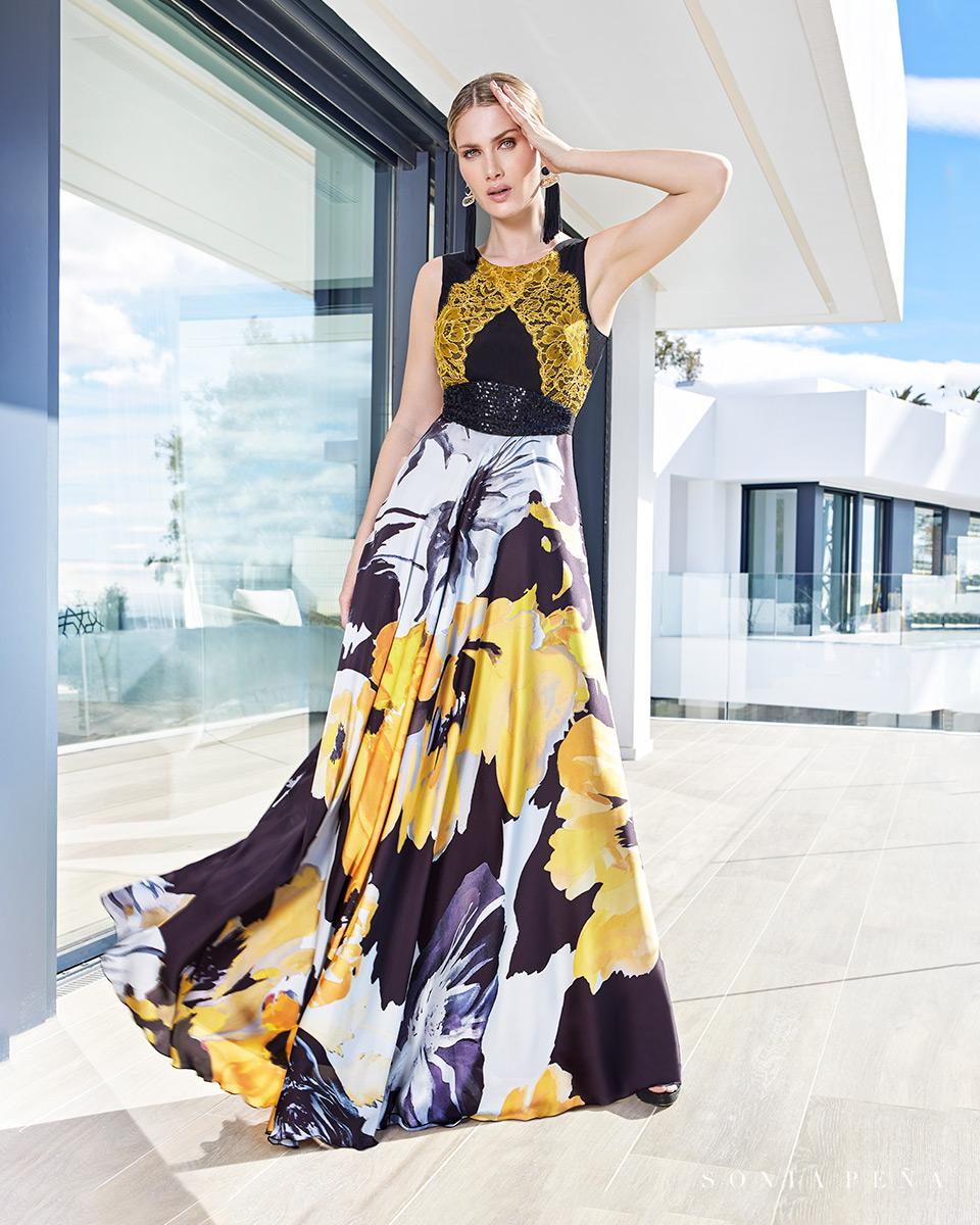 Vestito lungo. Primavera Estate 2021 Collezione Summer Time. Sonia Peña - Ref. 1210107
