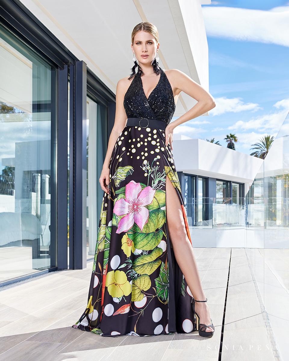 Vestito lungo. Primavera Estate 2021 Collezione Summer Time. Sonia Peña - Ref. 1210109