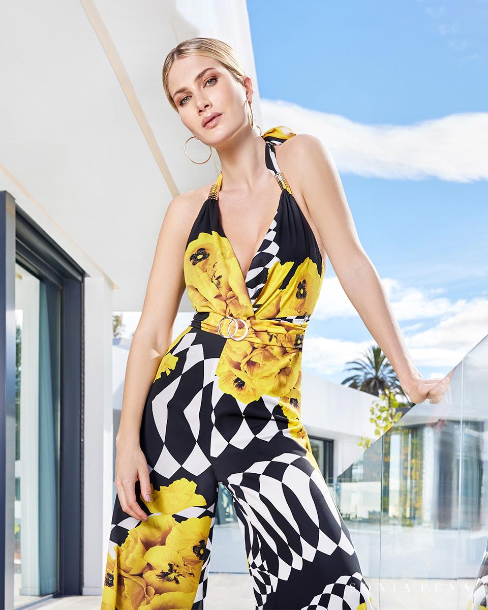 Abiti da festa, vestiti da festa. Primavera Estate 2021 Collezione Summer Time. Sonia Peña - Ref. 1210110
