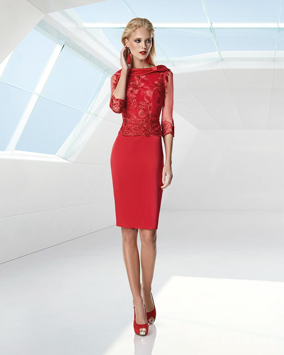 Vestito corto. Primavera Estate 2020 Collezione Trece Lunas. Sonia Peña - Ref. 1200004A
