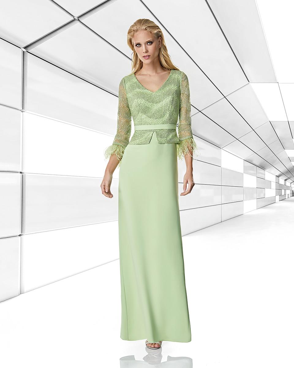Vestito lungo. Primavera Estate 2020 Collezione Trece Lunas. Sonia Peña - Ref. 1200006