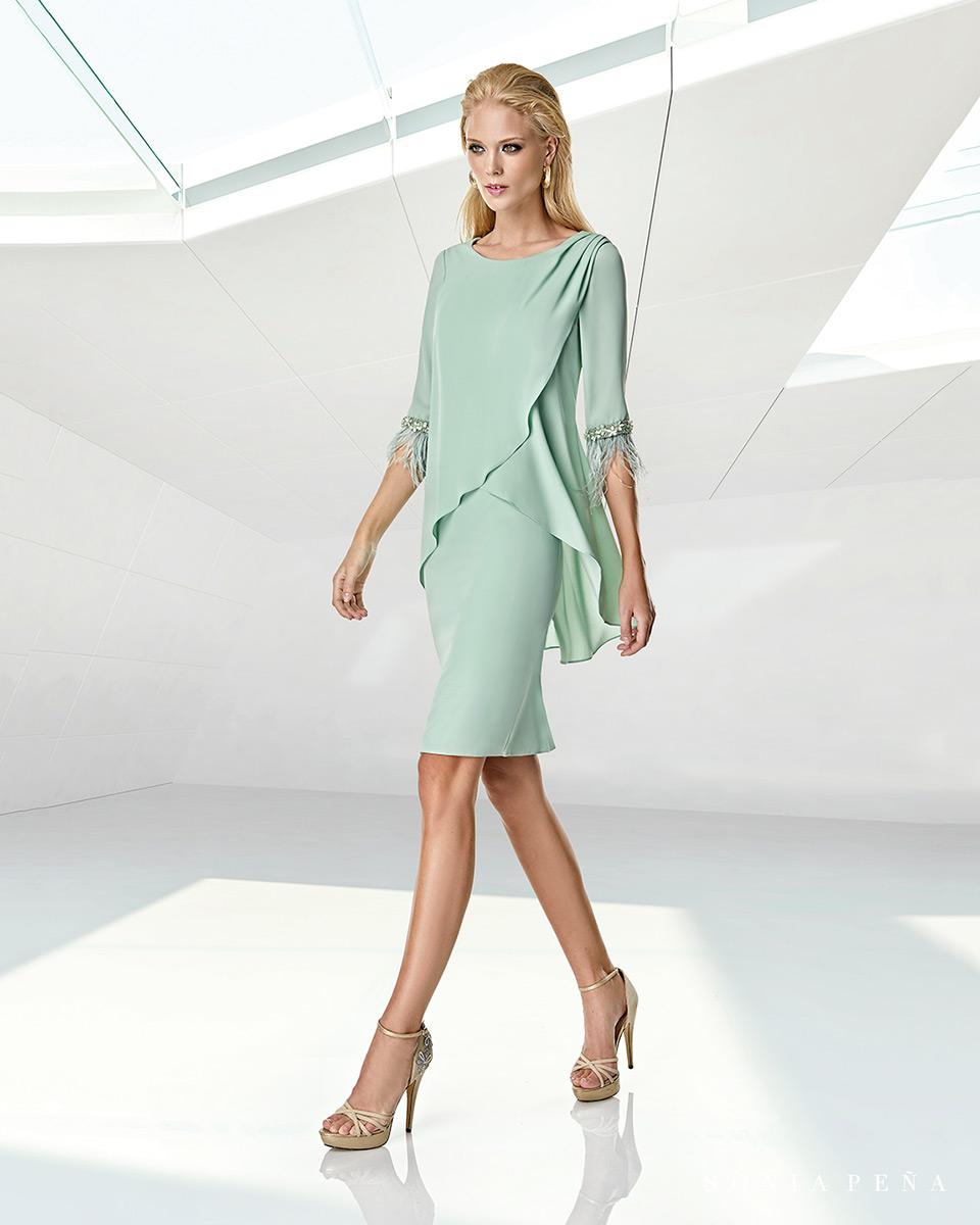 Vestito corto. Primavera Estate 2020 Collezione Trece Lunas. Sonia Peña - Ref. 1200007A