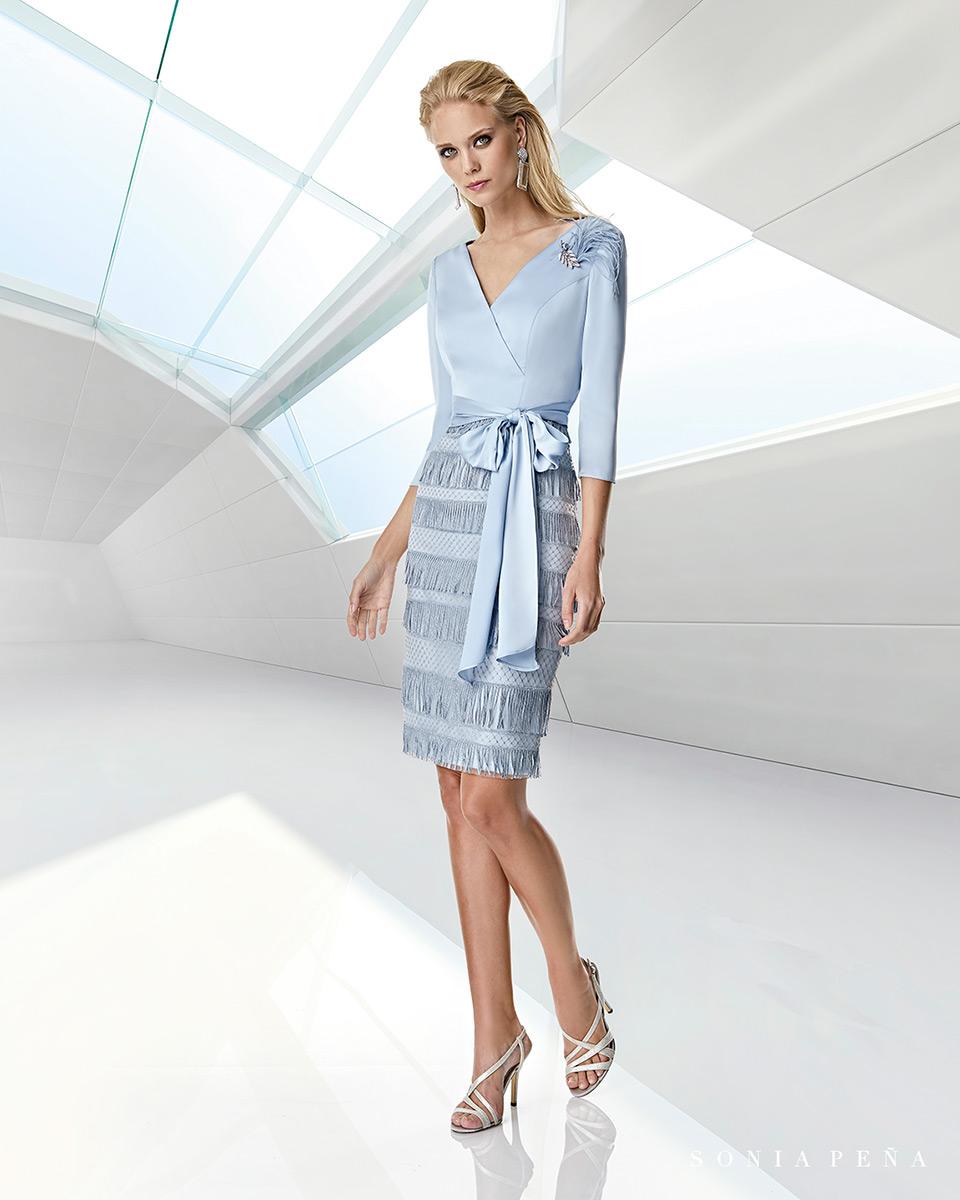 Vestito corto. Primavera Estate 2020 Collezione Trece Lunas. Sonia Peña - Ref. 1200010A