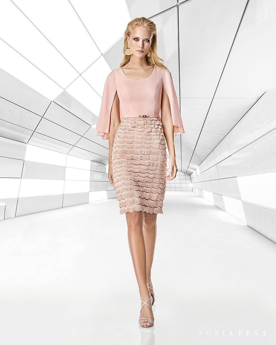 Vestito corto. Primavera Estate 2020 Collezione Trece Lunas. Sonia Peña - Ref. 1200011A