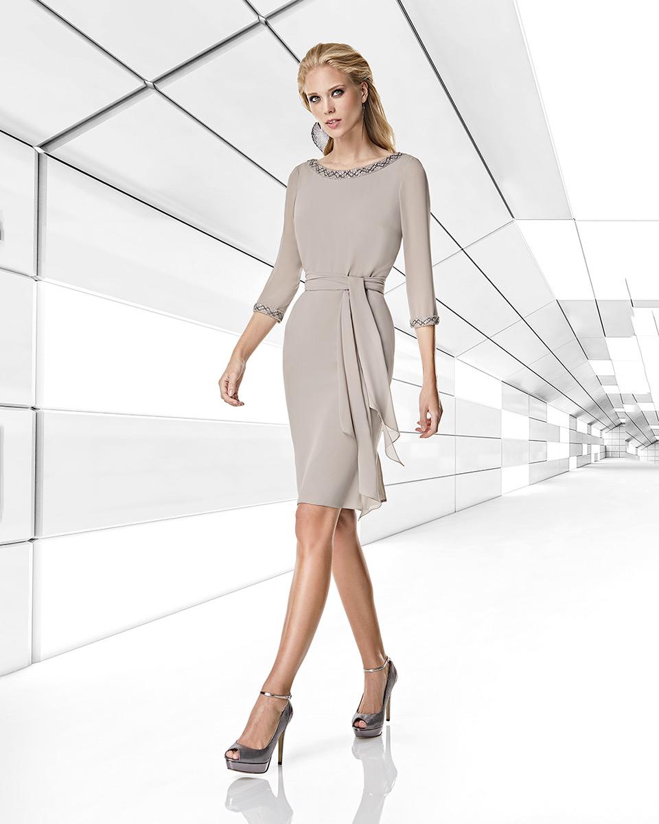 Vestito corto. Primavera Estate 2020 Collezione Trece Lunas. Sonia Peña - Ref. 1200013A