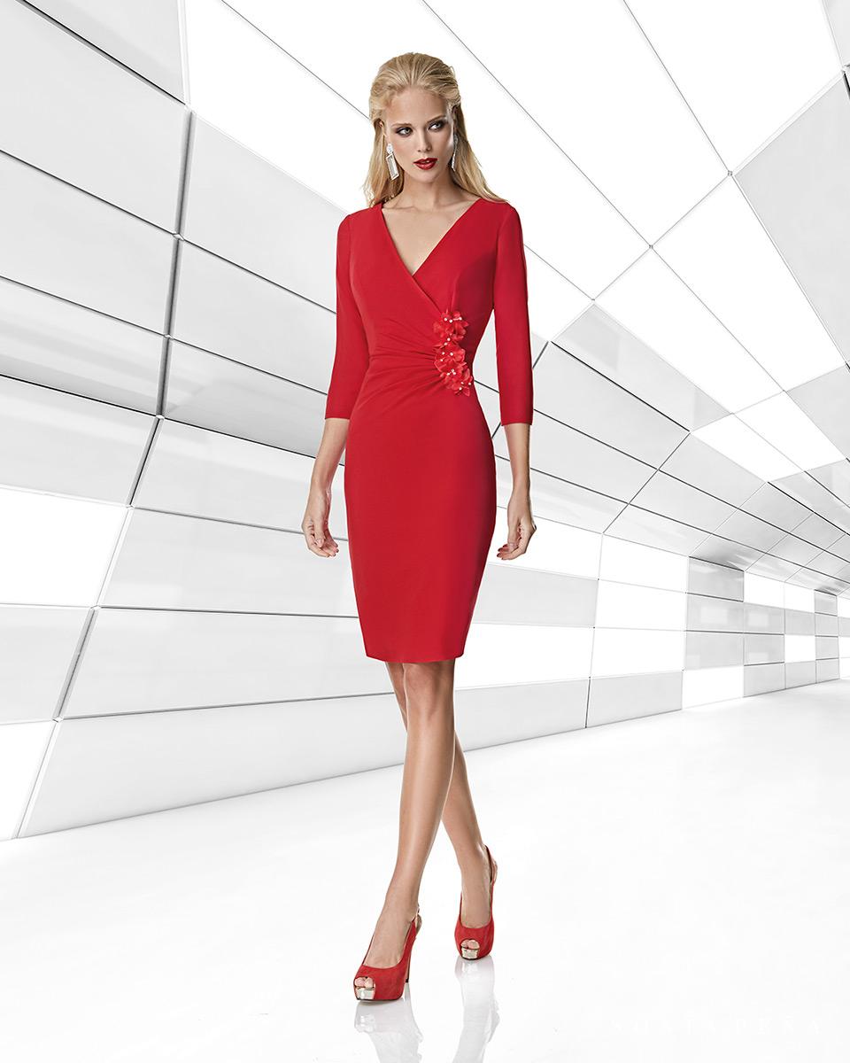 Vestito corto. Primavera Estate 2020 Collezione Trece Lunas. Sonia Peña - Ref. 1200014A