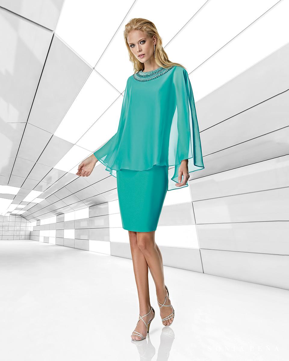 Vestito corto. Primavera Estate 2020 Collezione Trece Lunas. Sonia Peña - Ref. 1200020A