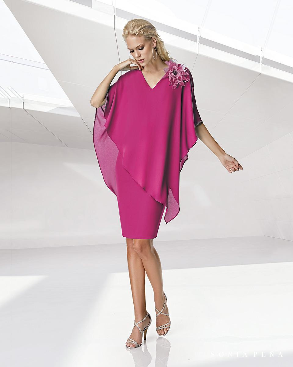 Vestito corto. Primavera Estate 2020 Collezione Trece Lunas. Sonia Peña - Ref. 1200025A