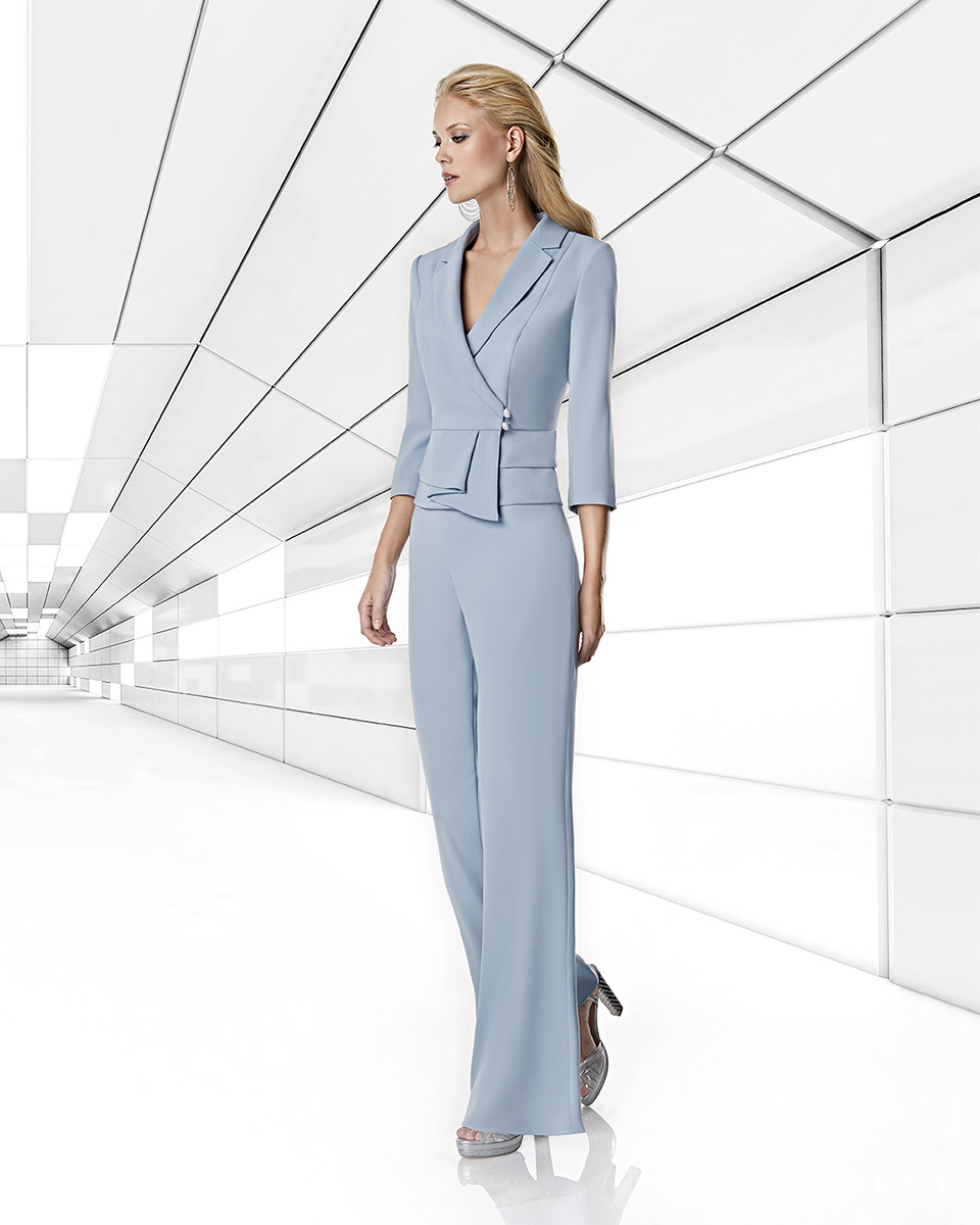 Pant suits, Trouser suits, trousers and Jumpsuits. Spring-Summer Trece Lunas Collection 2020. Sonia Peña - Ref. 1200034