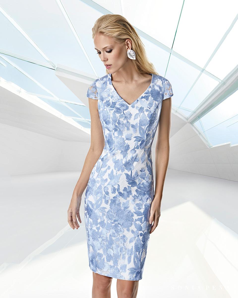 Vestito corto. Primavera Estate 2020 Collezione Trece Lunas. Sonia Peña - Ref. 1200039A