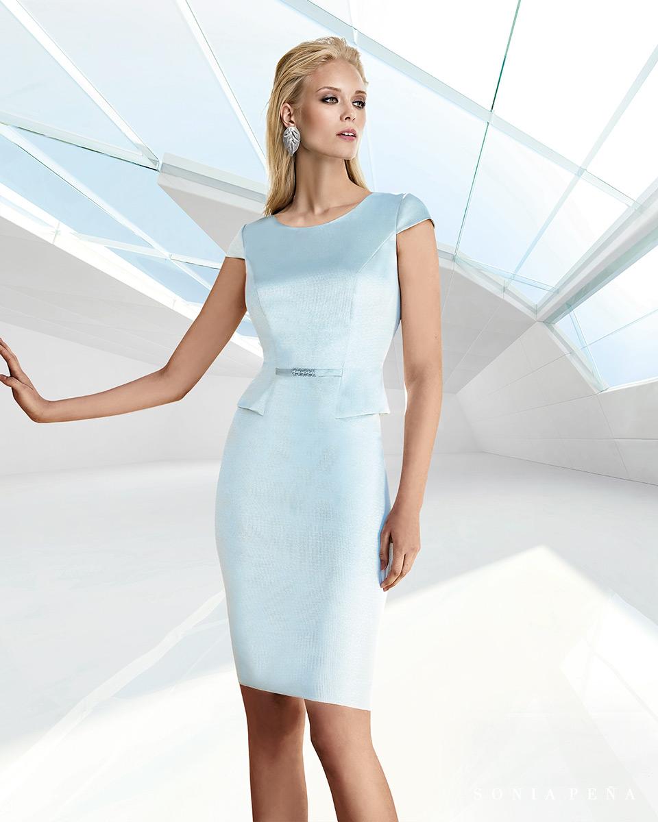Vestito corto. Primavera Estate 2020 Collezione Trece Lunas. Sonia Peña - Ref. 1200116A