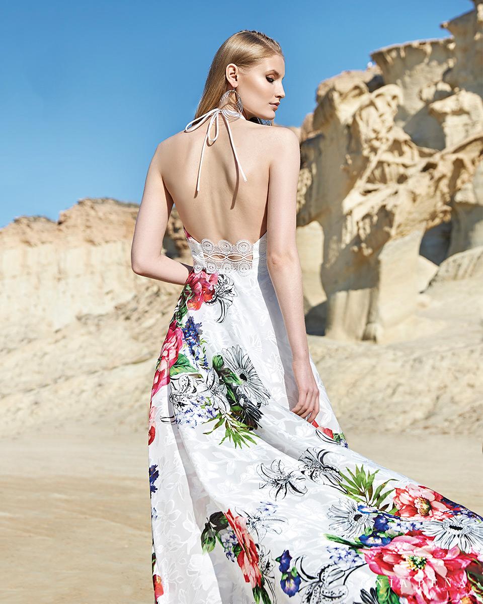 Vestito lungo. Primavera Estate 2020 Collezione Trece Lunas. Sonia Peña - Ref. 1200119