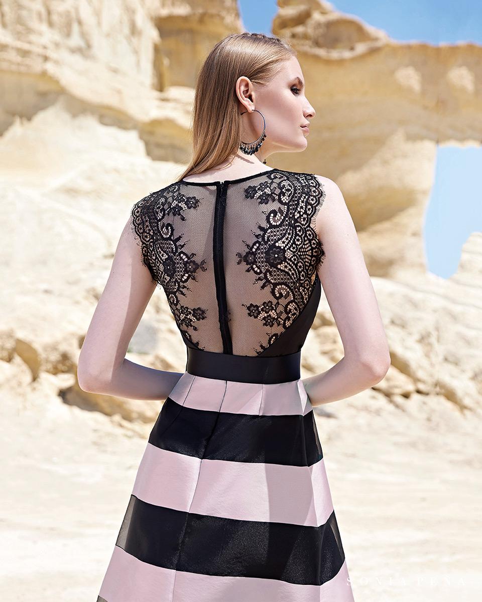 Vestito lungo. Primavera Estate 2020 Collezione Trece Lunas. Sonia Peña - Ref. 1200122
