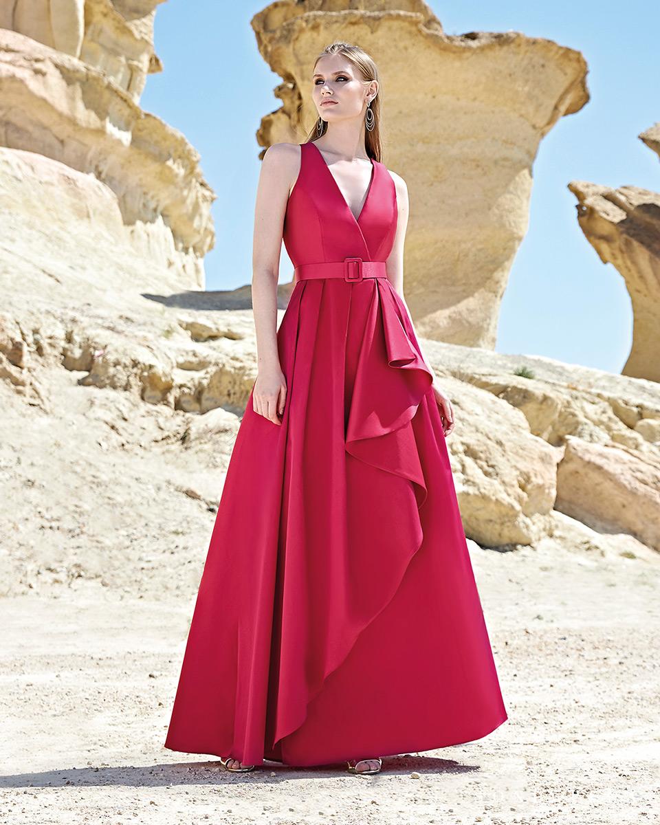 Vestito lungo. Primavera Estate 2020 Collezione Trece Lunas. Sonia Peña - Ref. 1200126