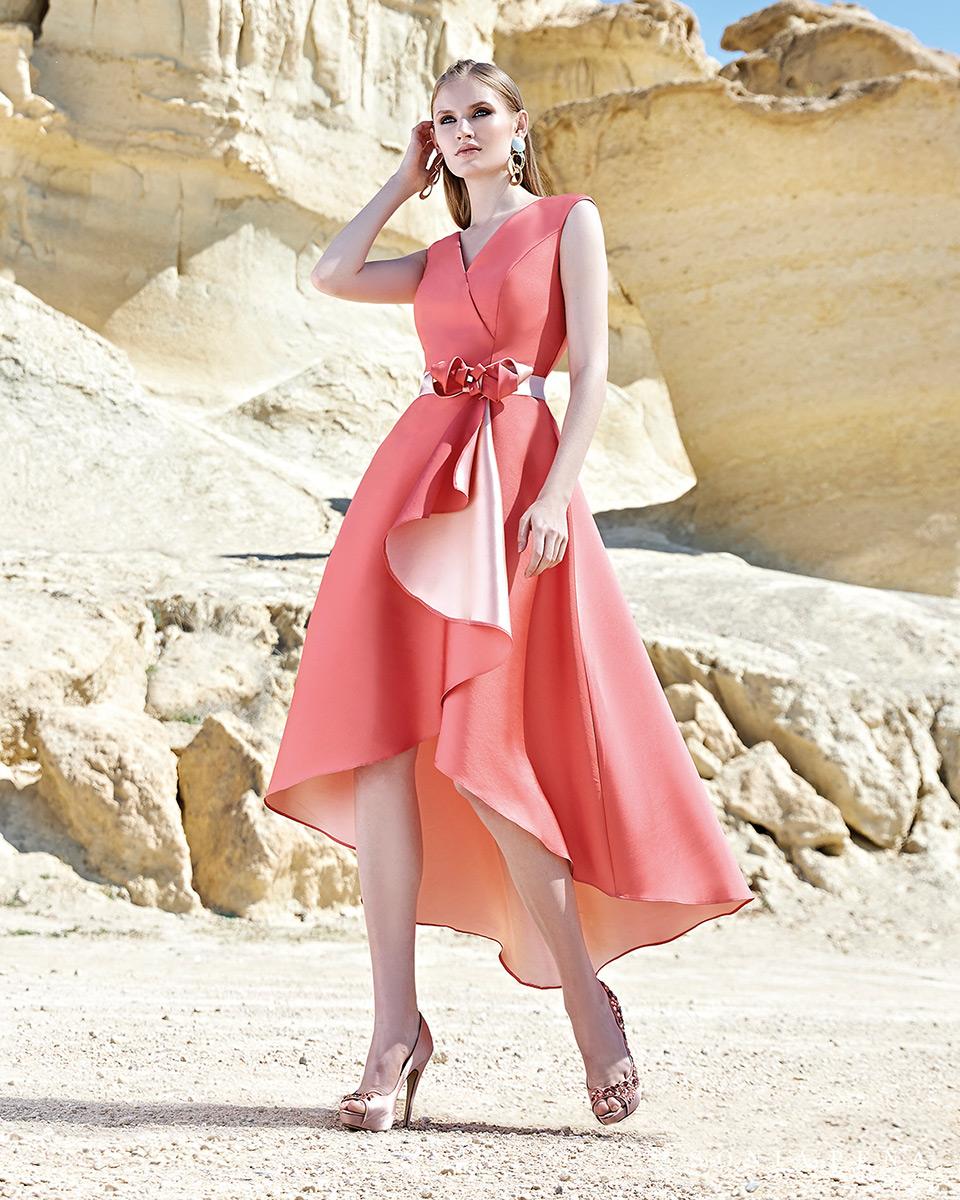 Vestito corto. Primavera Estate 2020 Collezione Trece Lunas. Sonia Peña - Ref. 1200128
