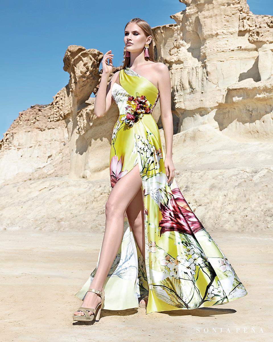 Vestito lungo. Primavera Estate 2020 Collezione Trece Lunas. Sonia Peña - Ref. 1200164