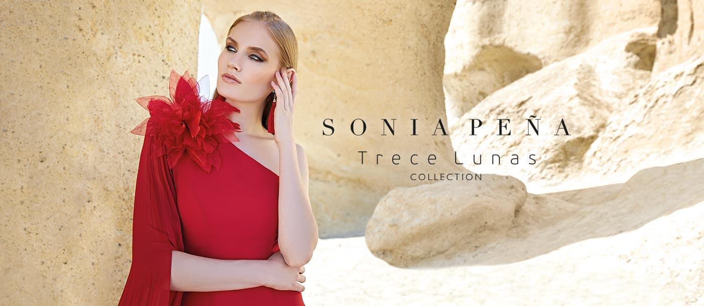 Abiti da festa, vestiti da festa, Vestidos de madrina, Abiti da cocktail. Primavera Estate 2020 Collezione Trece Lunas Completa. Sonia Peña